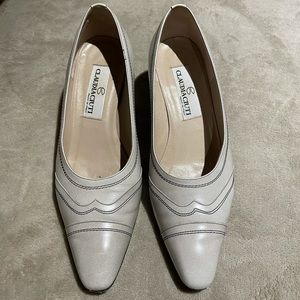 Naturalizer nude pointed/squared/small heel shoes